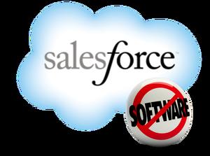 Salesforce No Software